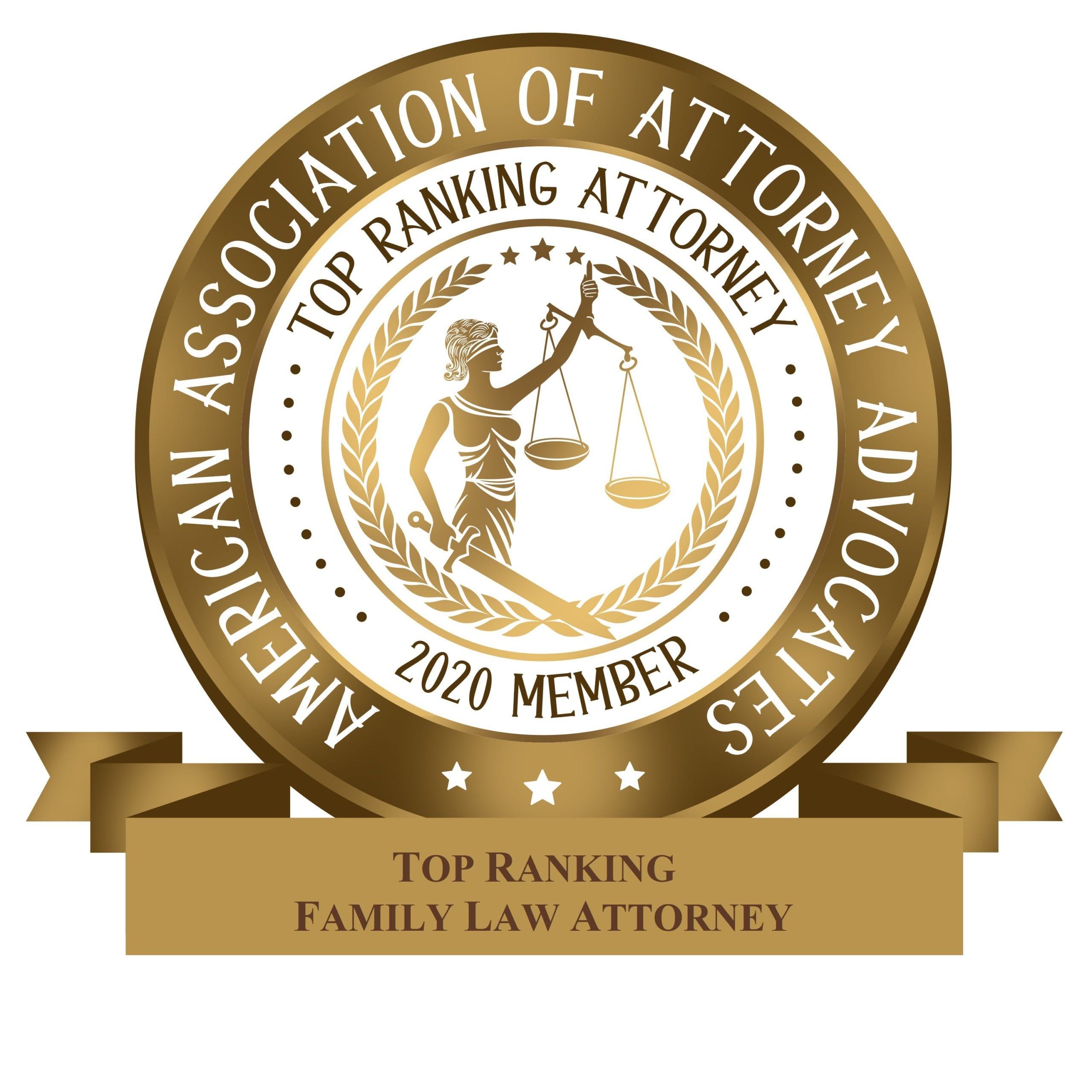American Association of Attorney Advocates - FAMILY LAW BADGE